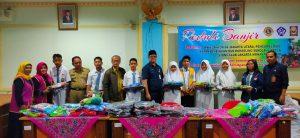 peduli banjir SMAN 111 Jakarta